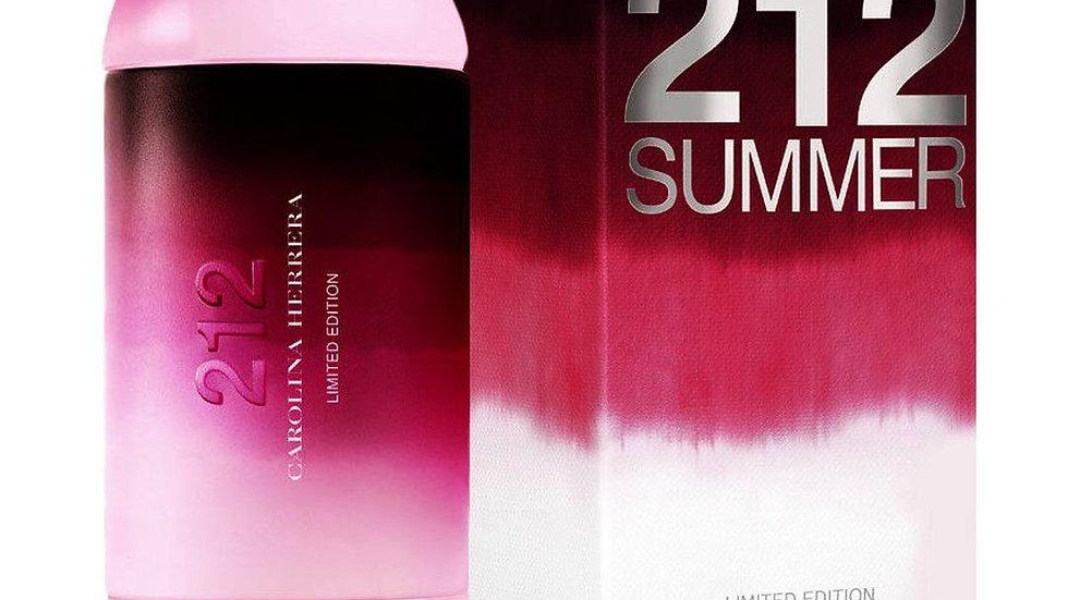 """Carolina Herrera """"212 Summer"""" for women 60ml"""