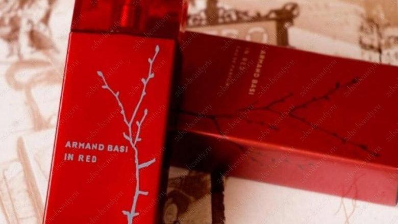 "Armand Basi ""In Red Eau de Parfum"" for women 100ml"