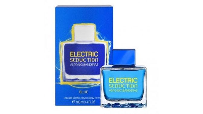 """Antonio Banderas """"Electric Seduction Blue"""" for women 100 ml"""