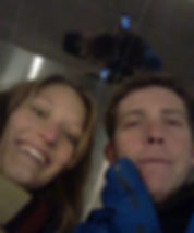 Ed Lacey and Oona Tibbetts Exploring Chicago together