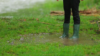 PRS Construction offers landscape drainage systems to keep your yard dry to avoid standing water and soggy lawn