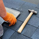 Replace missing shingles roof repair PRS Construction - Charlotte, NC