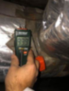 PRS Construction crawlspace inspection - moisture and mold remediation
