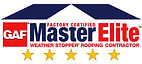 PRS Construction is a certified Master Elite Roofing Contractor with GAF, a certification that is limited to only 3% of all Roofing Contractors