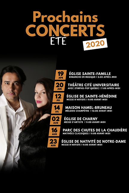 Copie de Upcoming Event schedule calenda