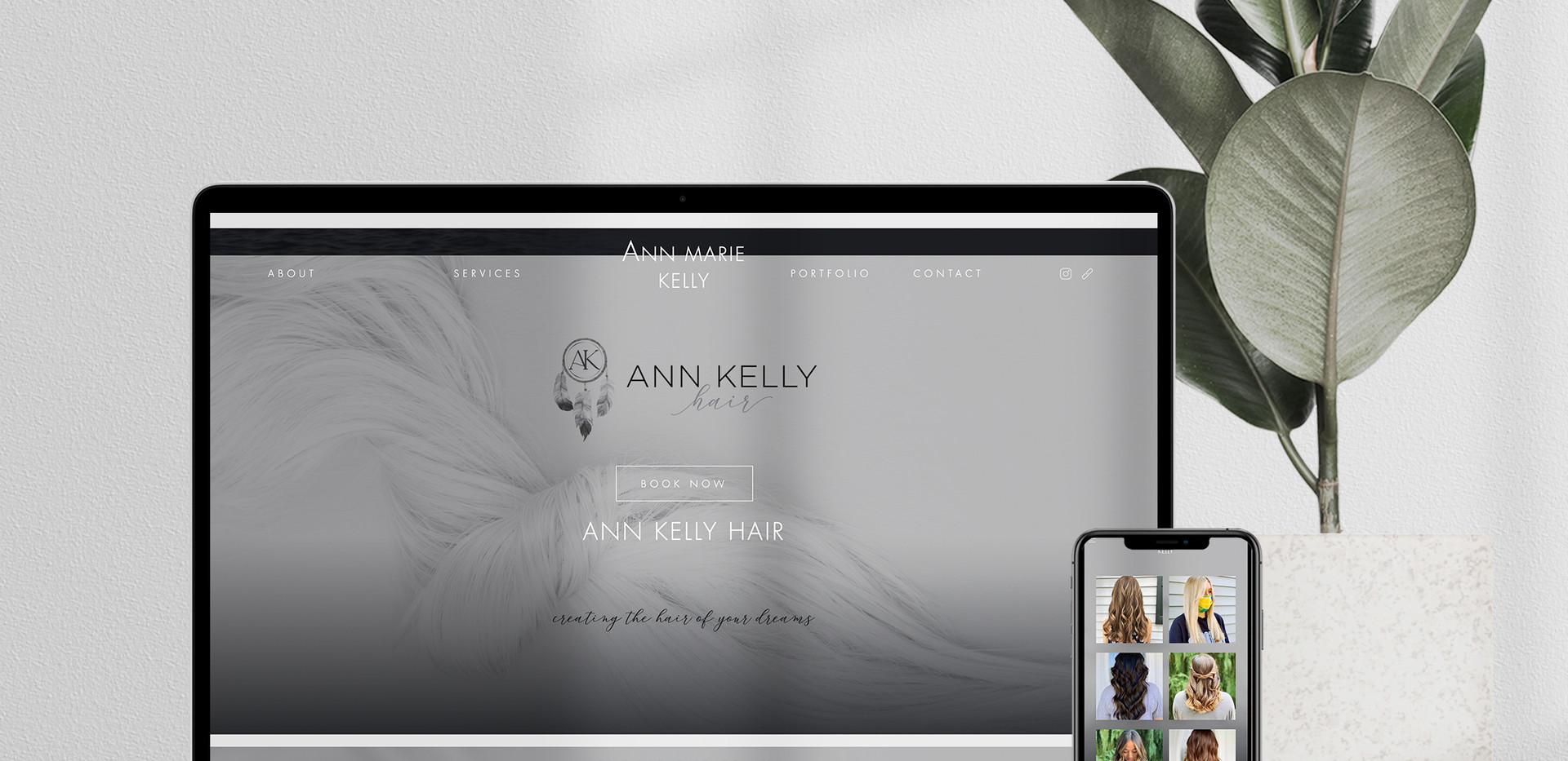 Ann Kelly Hair Gloss Genius Web Page