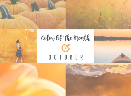 Color Of The Month - October