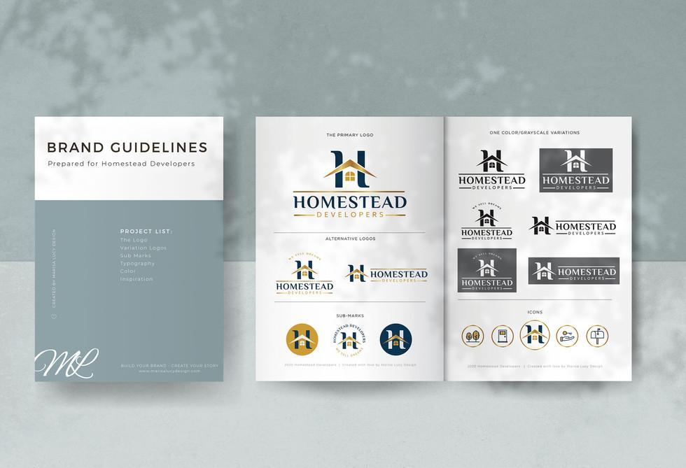 Homestead Developers Branding