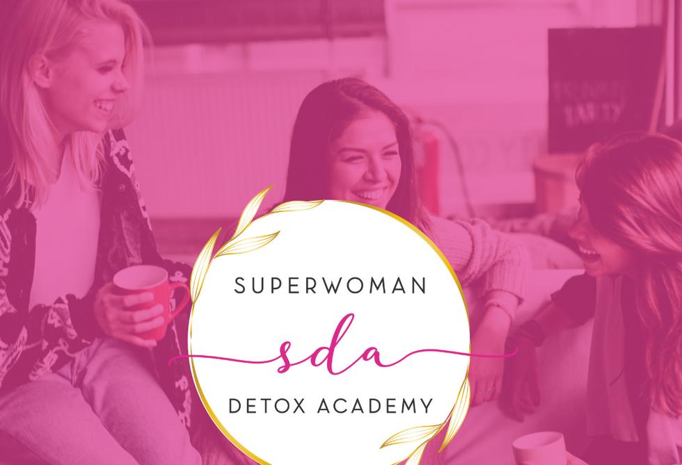 Super Woman Detox Academy Submark Logo