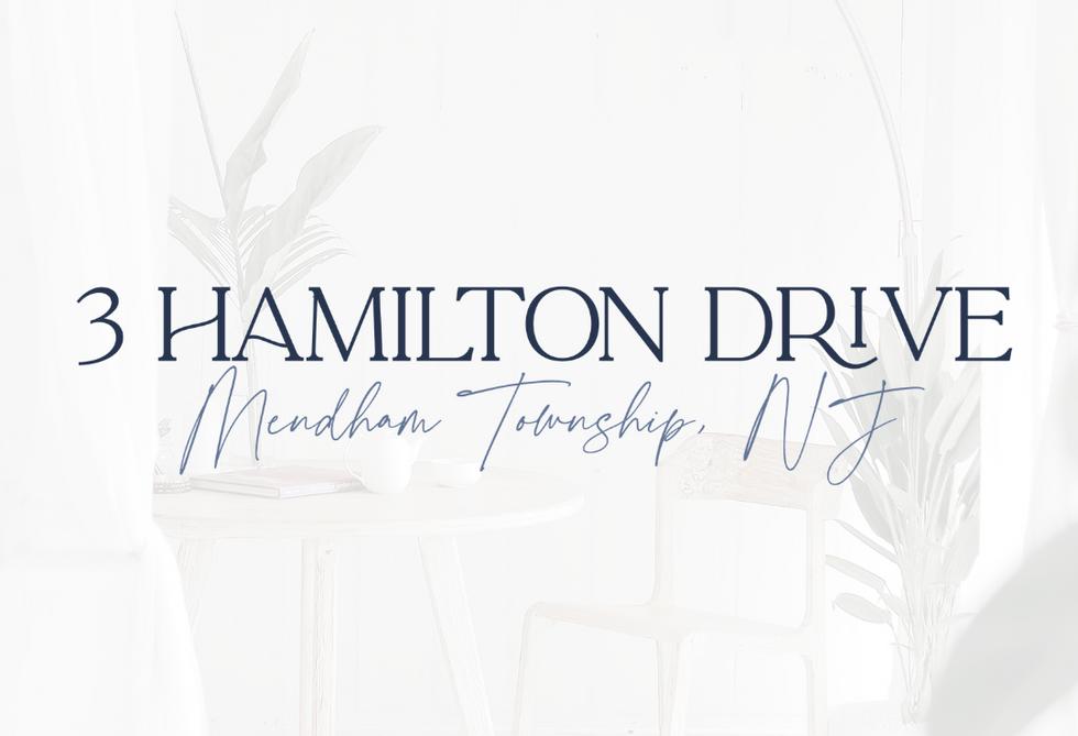 3 Hamilton Drive Logo