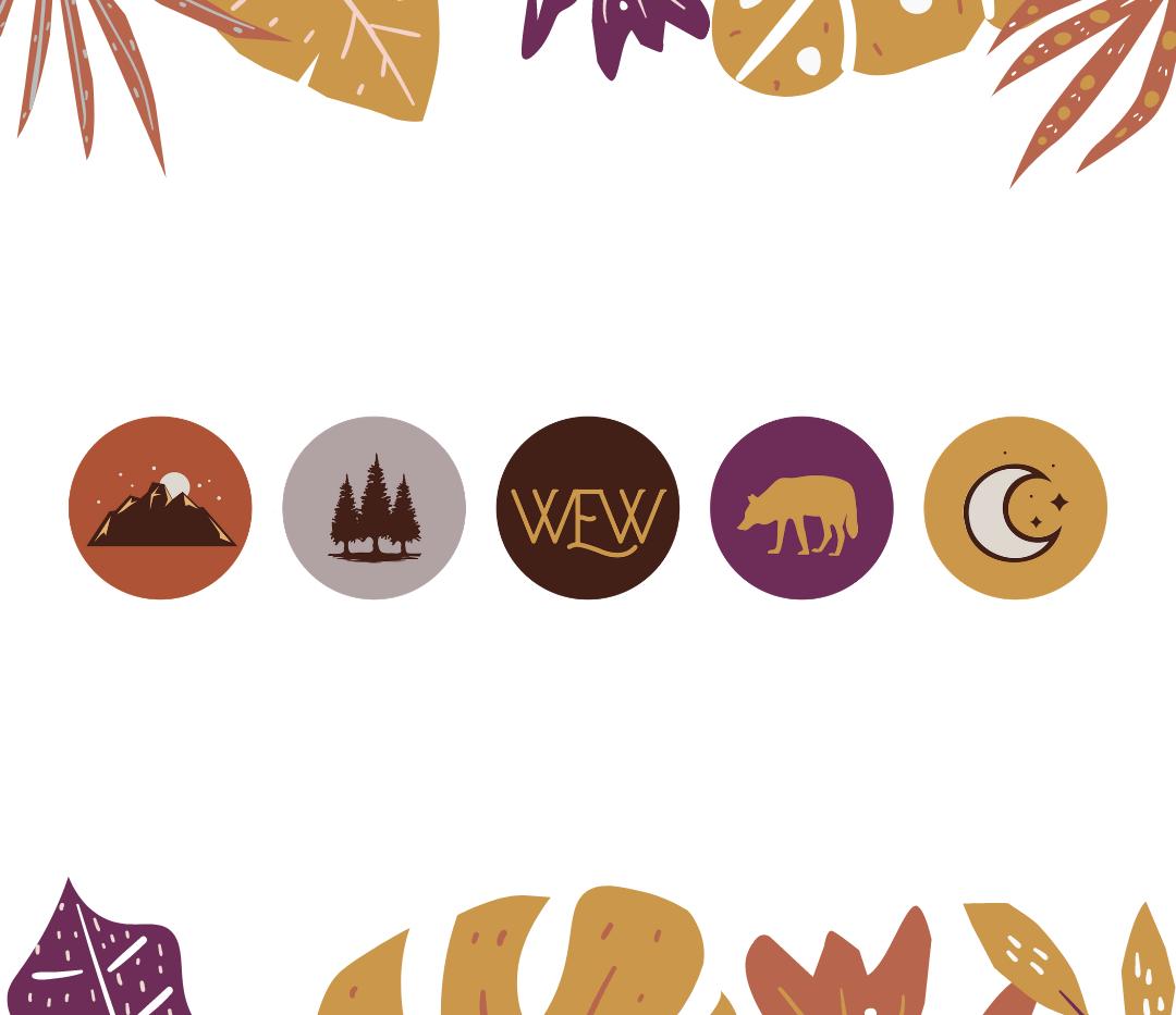 Wild Edge Wellness Icons