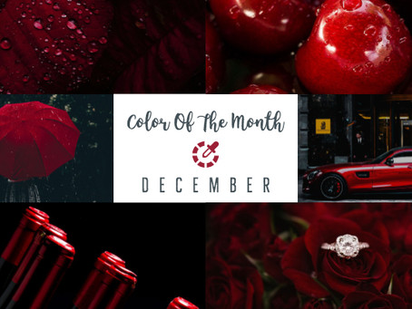 Color Of The Month - December