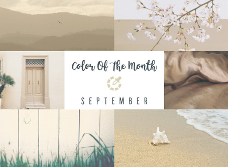 Color Of The Month - September