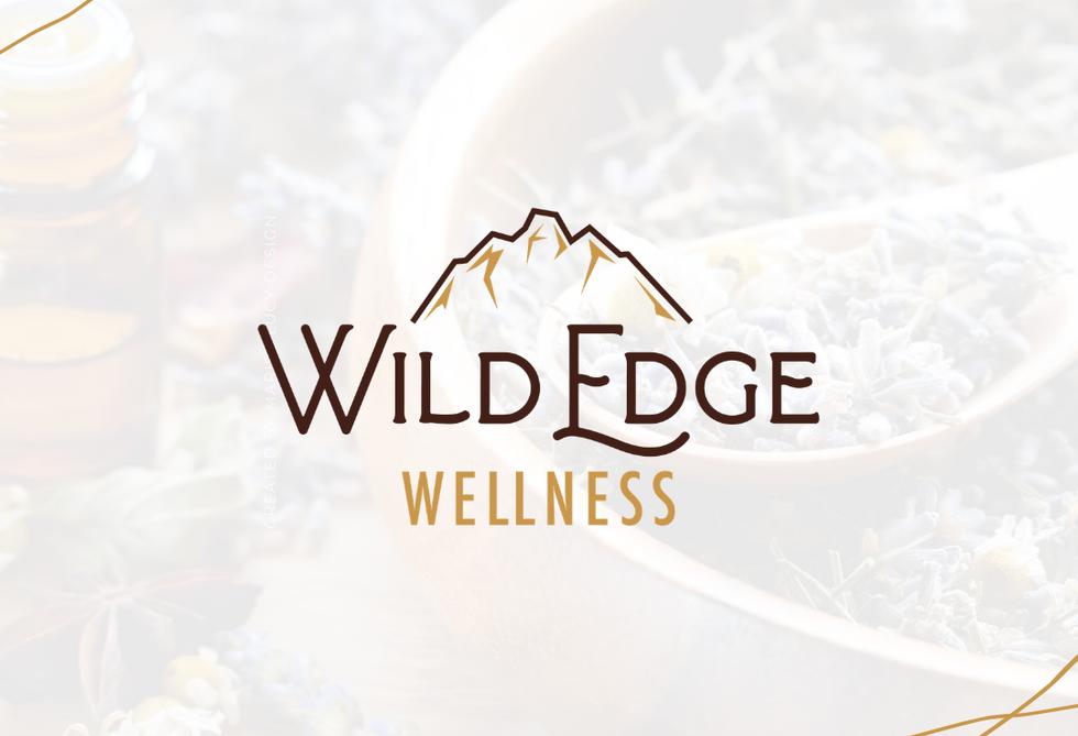 Wild Edge Wellness Alternative Logo