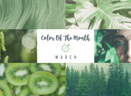 Color Of The Month - March