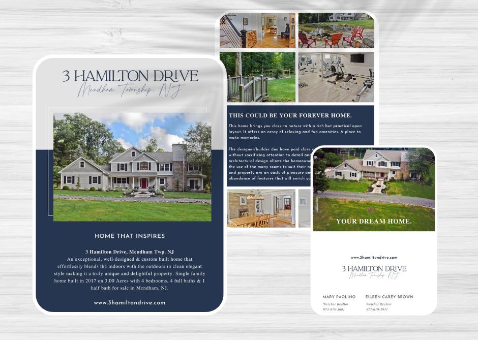 3 Hamilton Drive Branding