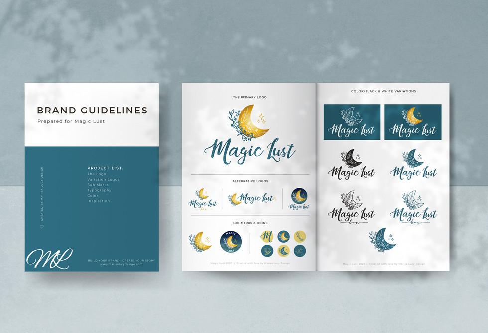 Magic Lust Branding Document