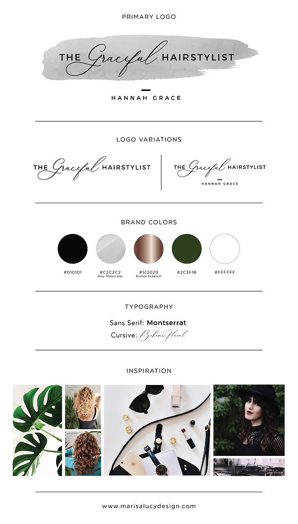 Branding clients-moodboards_Graceful Hai