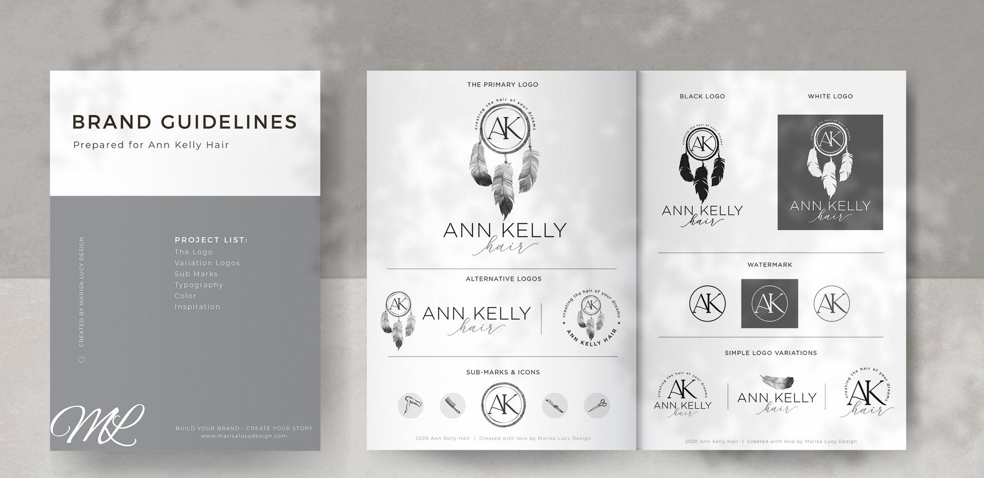 Ann Kelly Hair Branding