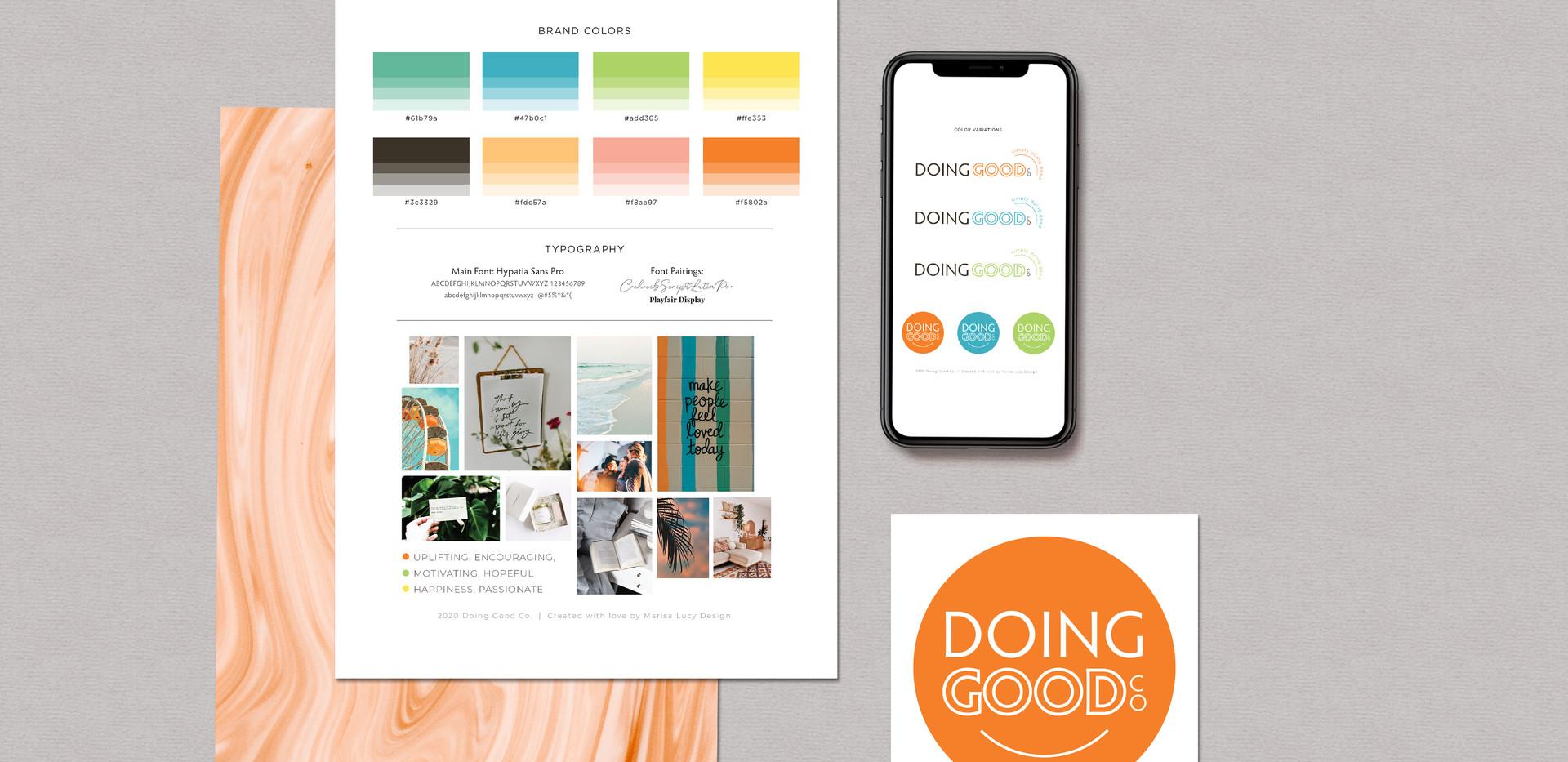 Doing Good Co. Branding