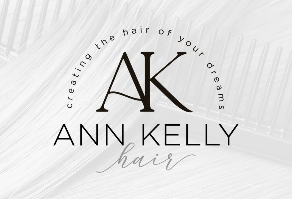 Ann Kelly Hair Alternative Logo