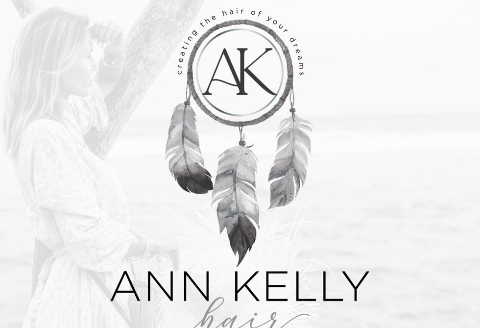Ann Kelly Hair Primary Logo