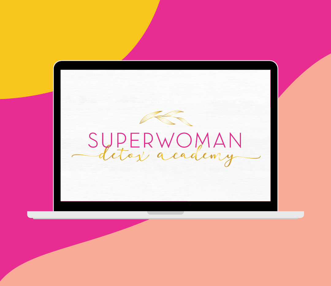 Super Woman Detox Academy Alternative Logo