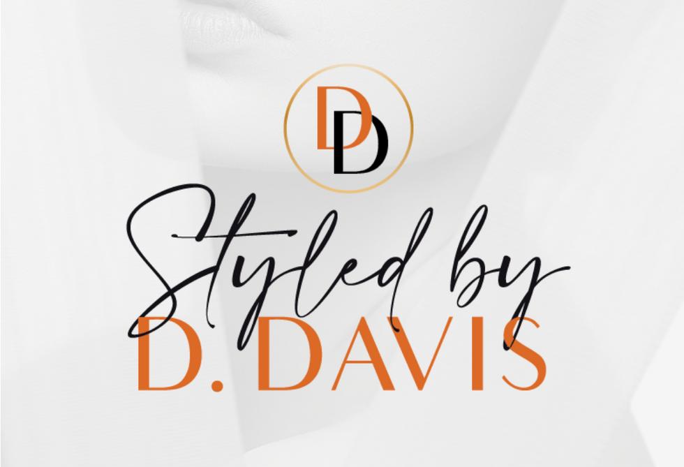 Styled By D. Davis Logo