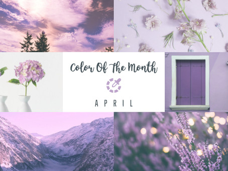 Color Of The Month - April