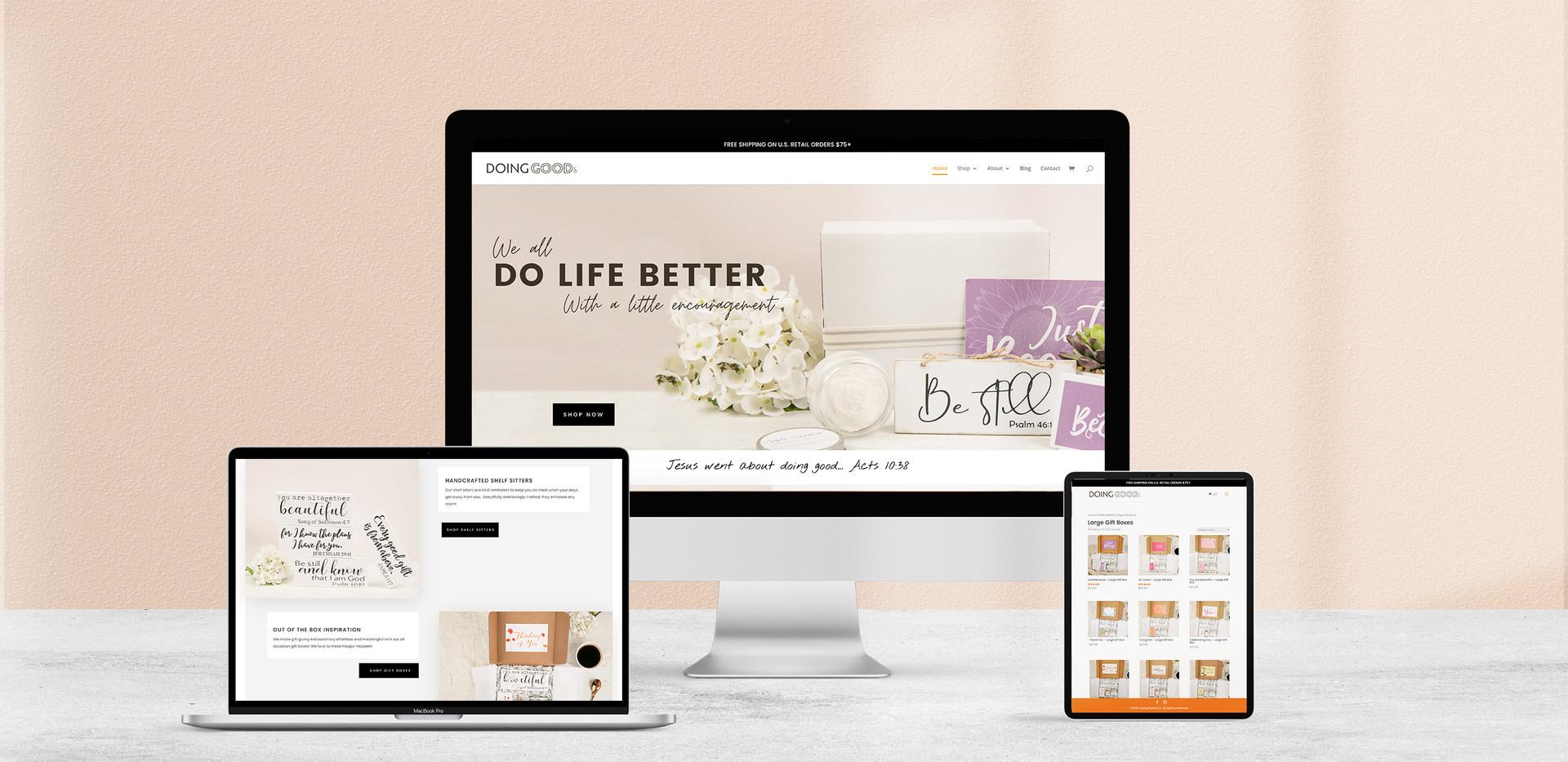 Doing Good Co. Website