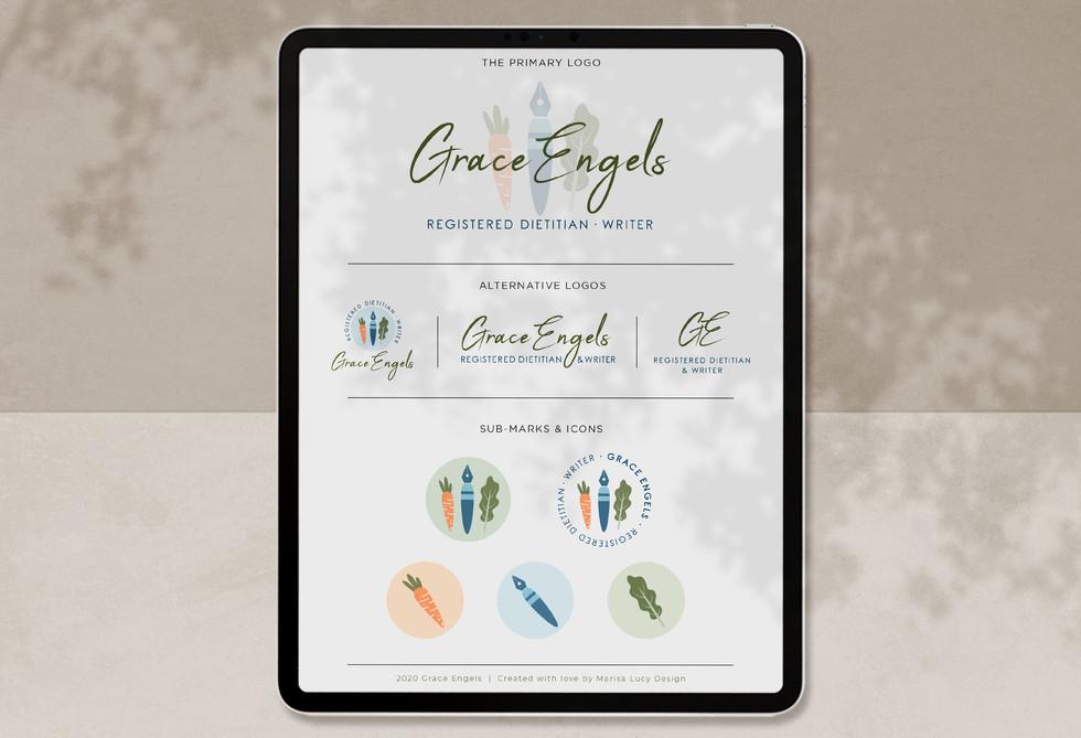 Grace Engels Dietitian Branding