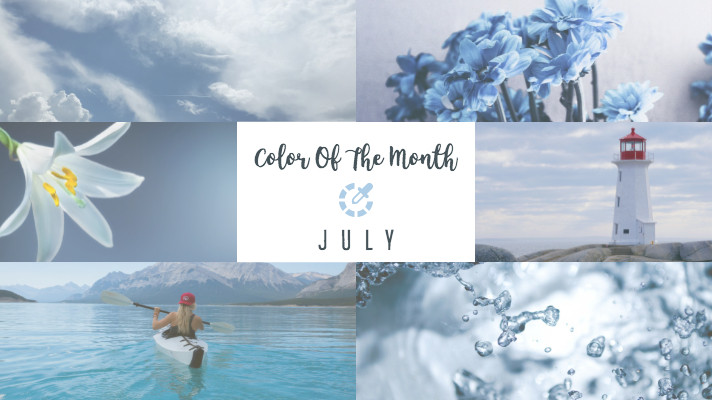 Light Blue Mood board