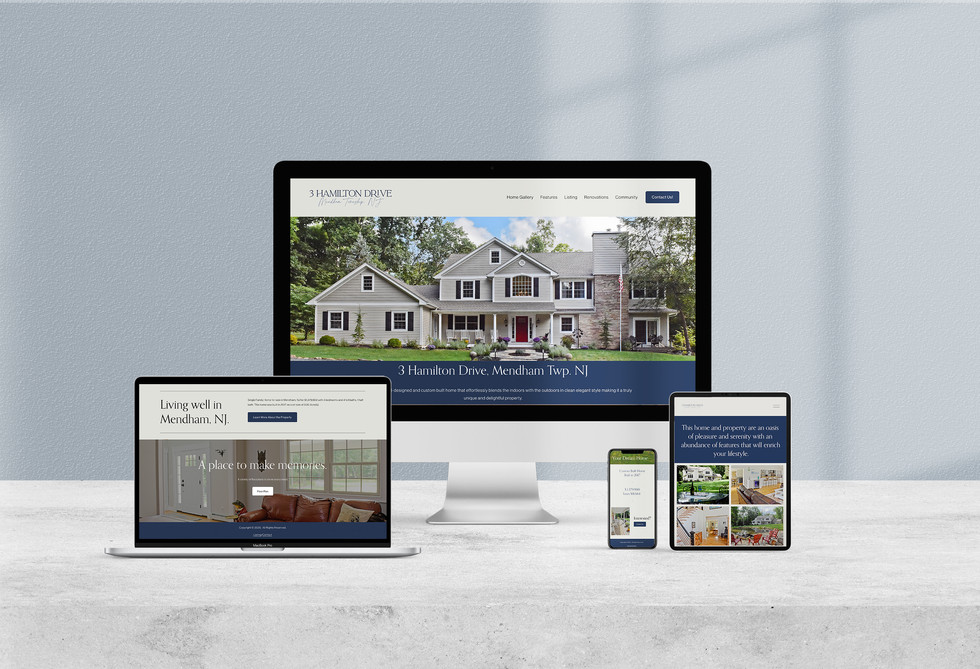 3 Hamilton Drive Website