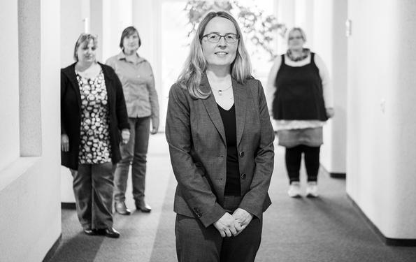 Businessfotografie der Steuerberaterin Petra Konn in Wuppertal