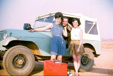 Photo Don Harp Collection Dooleys Dollies on way to Khong Island Medical Clinic Laos