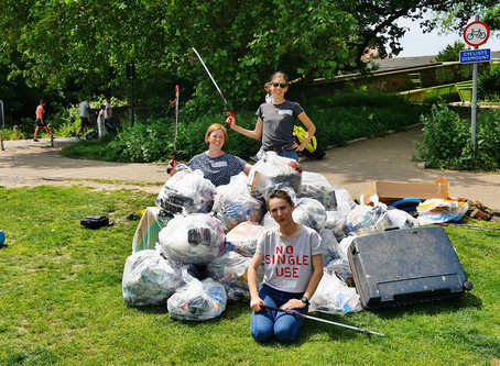Litter Pick for Recycling Week