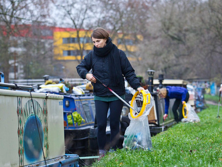 Plastic Free Hackney featured in The Times: Urban warriors rescue wildlife from a tide of plastic ru