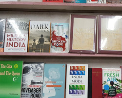 At a book store in Lucknow