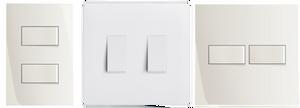 Postos tomadas e interruptores