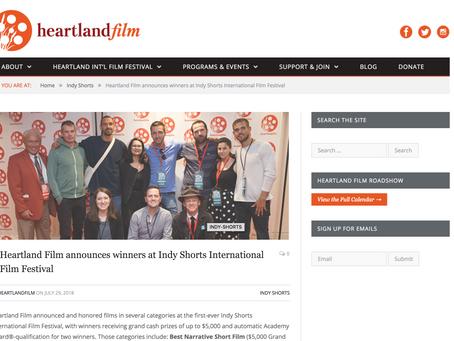 Indy Shorts Film Fest Winner!