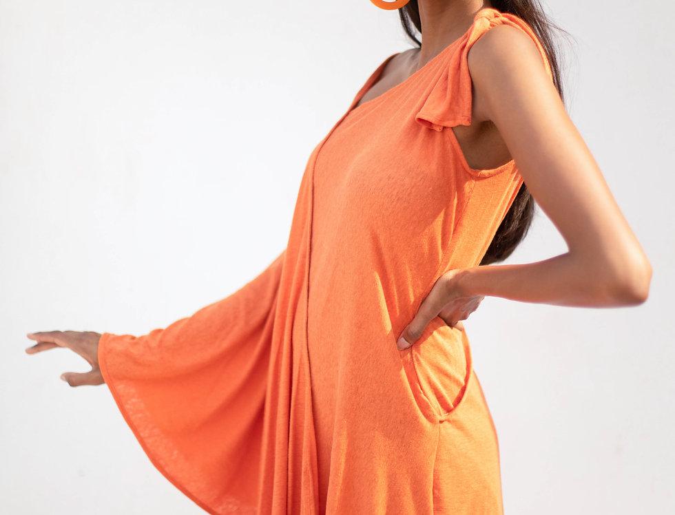 Hemp Drape Dress
