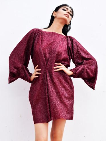 Shimmer C-dress