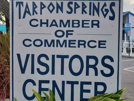 Where can I eat on Monday in Tarpon Springs, FL?