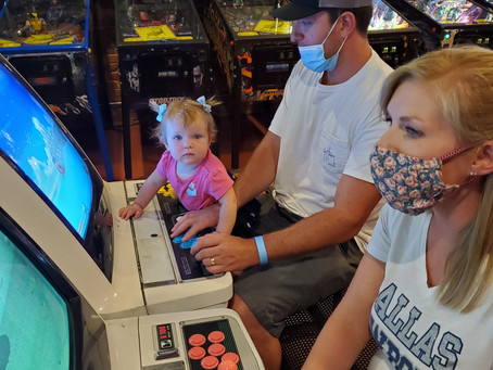 Birthday at the Replay Arcade