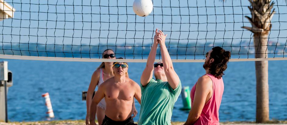 Volleyball at Sunset Beach (Tuesdays)