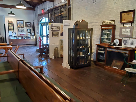 Tarpon Springs Historical Train Depot Museum