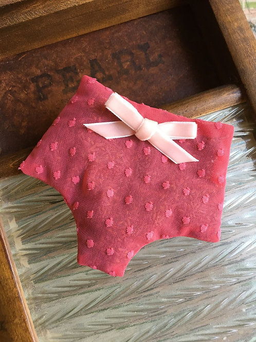Gypsy Rose sachet in coral