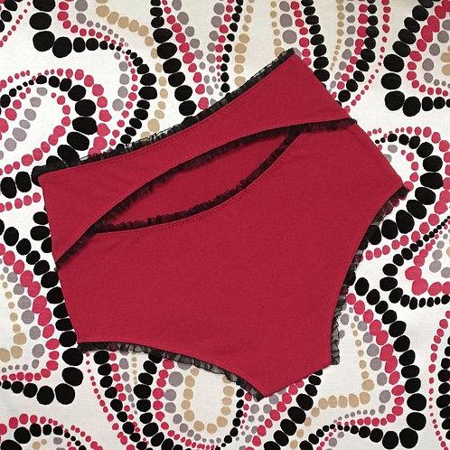 Ginger panties in red
