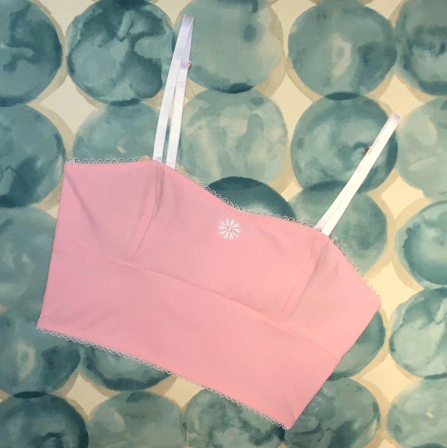 Rita LL bralette in bubblegum pink