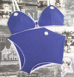 Sharon bralette & Rita panties in seaside blue